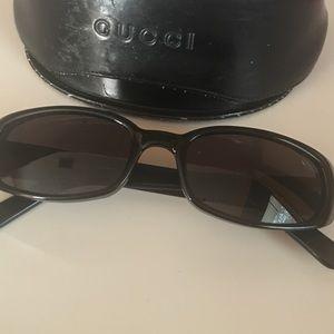 Authentic vintage Gucci sunglasses..